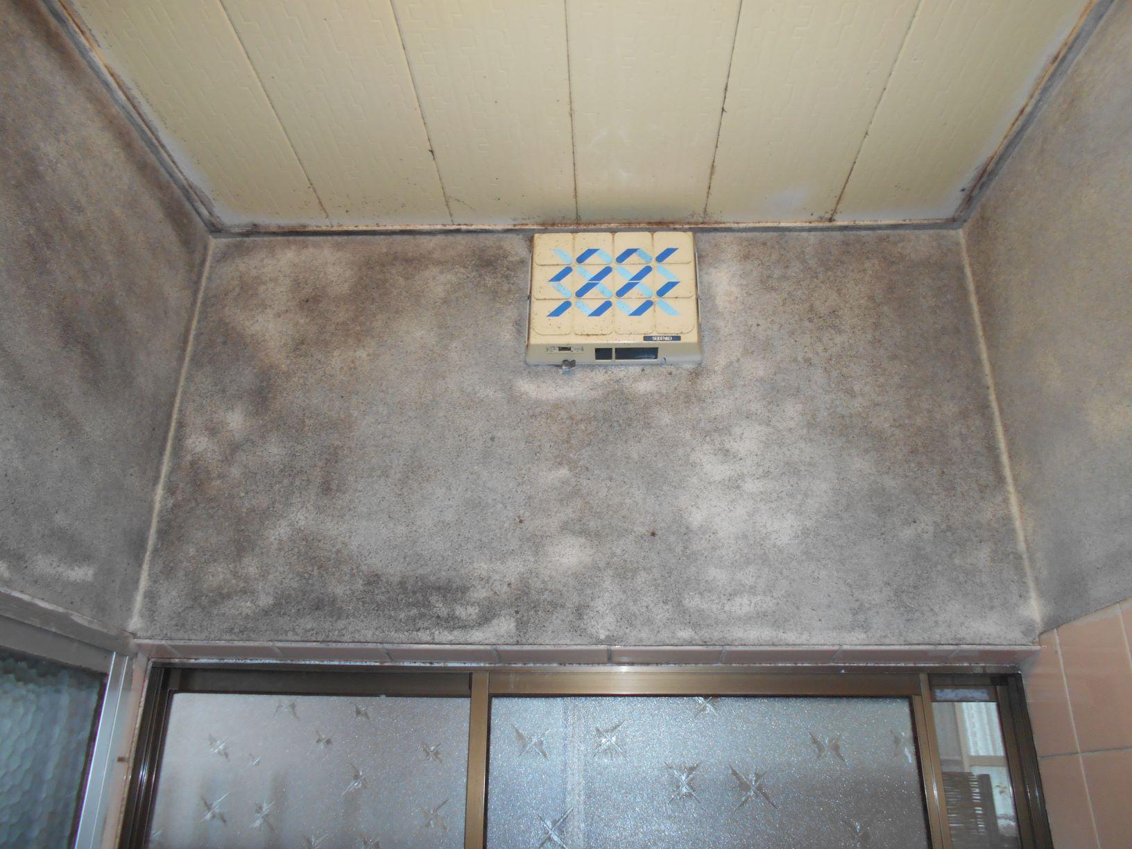 2月26日浴室換気扇