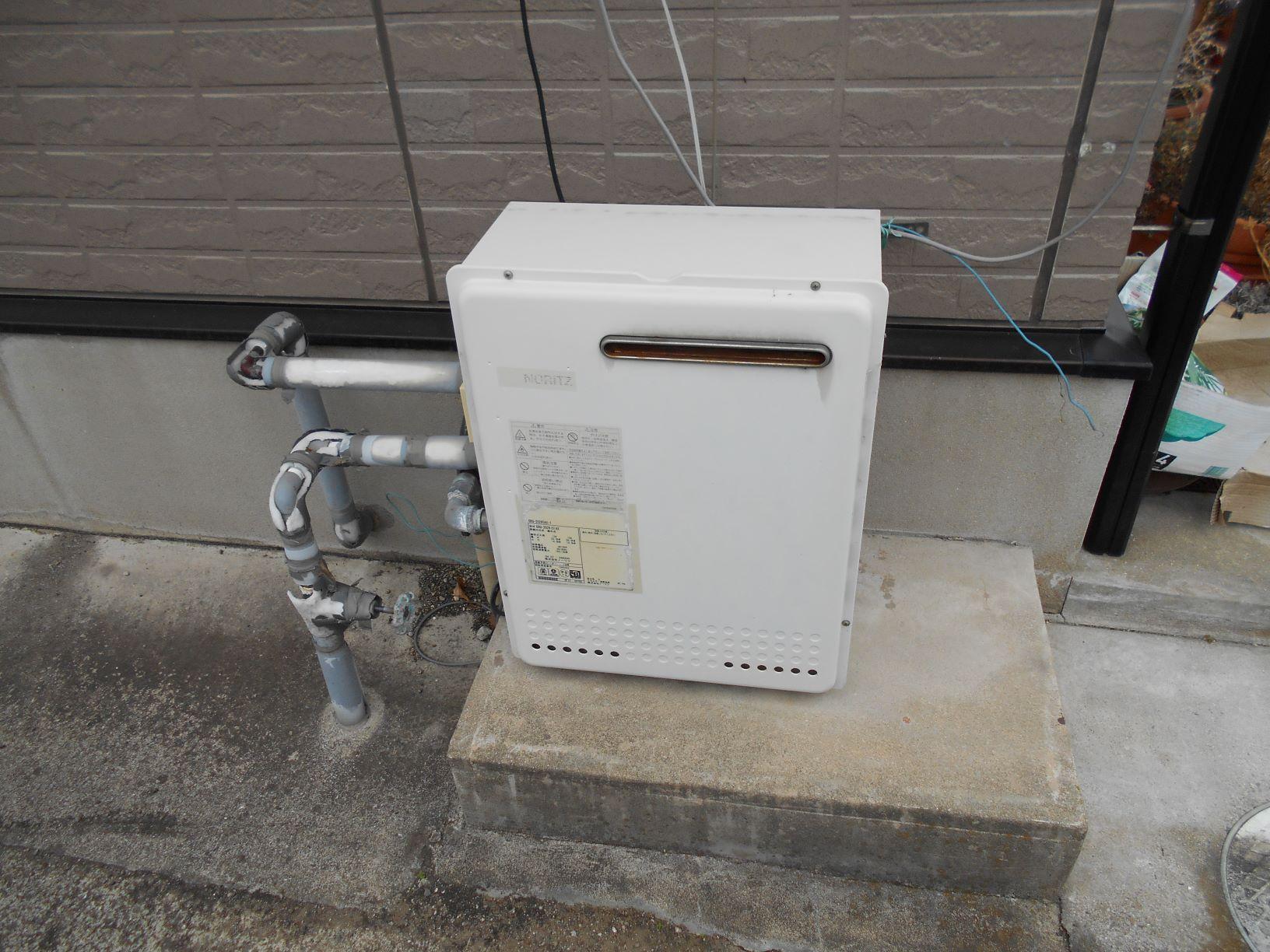 2月24日ガス給湯器